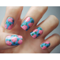 Flower Nail Design Ideas