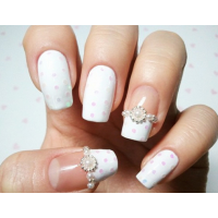 Stunning Wedding Nail Design Ideas